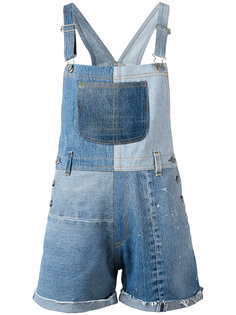 patchwork dungarees  Re/Done