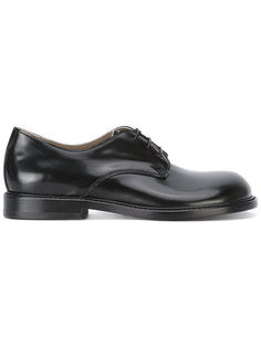 round toe lace-up shoes Rundholz