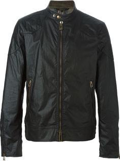 вощеная куртка на молнии Belstaff