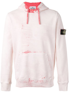 front pocket hoodie Stone Island