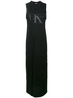 платье с принтом-логотипом Calvin Klein Jeans