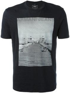 футболка с фотопринтом Armani Jeans