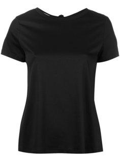 футболка с открытой спиной Helmut Lang