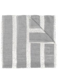 полосатый шарф с отделкой пайетками Eleventy