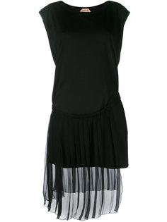 платье с многослойной полупрозрачной юбкой  Nº21