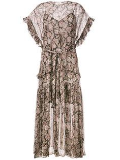 """платье с принтом """"пейсли"""" Zimmermann"""
