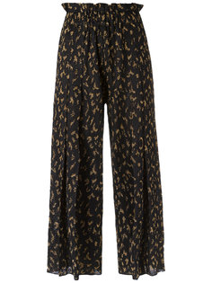 wide leg crop knit trousers Gig