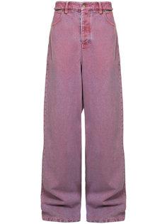 широкие джинсы с вырезными элементами Y / Project