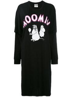 front print T-shirt dress Aalto