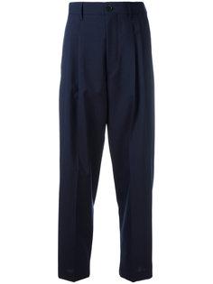 классические брюки со складками  Erika Cavallini