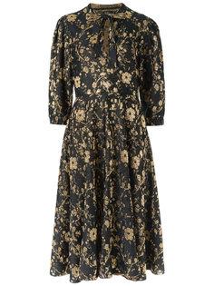 floral knit midi dress Gig