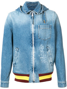 выбеленная джинсовая куртка J.W.Anderson