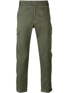 брюки карго прямого кроя Les Hommes
