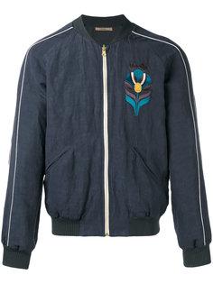 куртка-бомбер с вышивкой Nuur