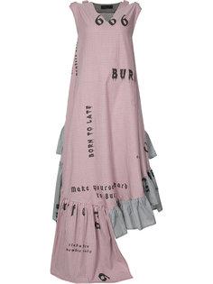 платье Flounce Area Di Barbara Bologna