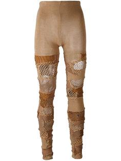 patchwork trousers Junya Watanabe Comme Des Garçons