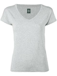 футболка с вырезом-ковшом Eleventy
