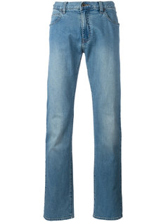 прямые джинсы Armani Jeans