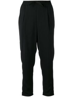 drawstring cropped trousers Sonia By Sonia Rykiel