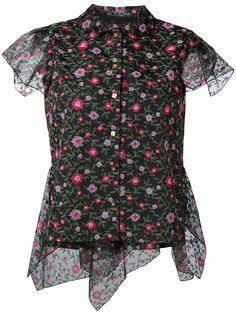 блузка с цветочным принтом  Kolor