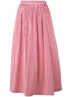 пышная полосатая юбка Rossella Jardini