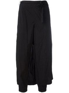 back apron cropped trousers Kolor