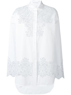 floral cut-out shirt Ermanno Scervino