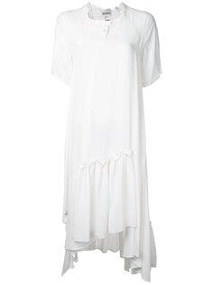 Rayon Tuck dress  Anrealage
