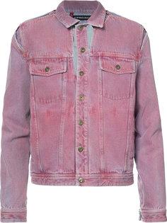 джинсовая куртка с вырезными деталями Y / Project