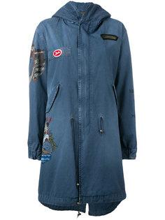 джинсовое пальто с принтом  Mr & Mrs Italy