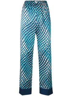 брюки Etere в пижамном стиле F.R.S For Restless Sleepers