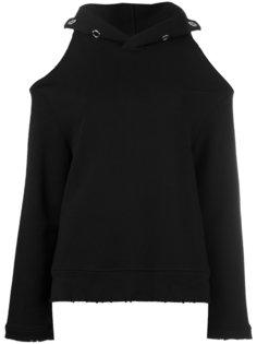 cold-shoulder hoodie  Rta