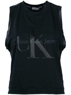 топ с принтом-логотипом Calvin Klein Jeans