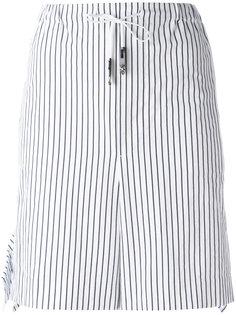 striped tie-waist shorts Toga