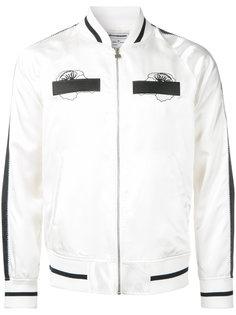 embroidery sheep ska bomber jacket Anrealage