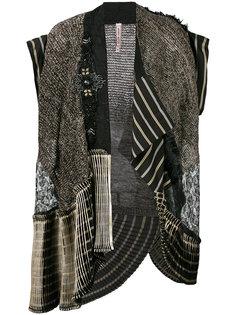 пиджак без рукавов с вышивкой Antonio Marras