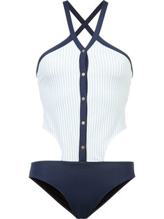 collared oxford one piece Jonathan Simkhai