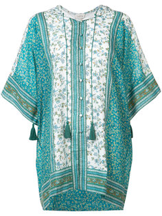 Indian Flower print kaftan Talitha
