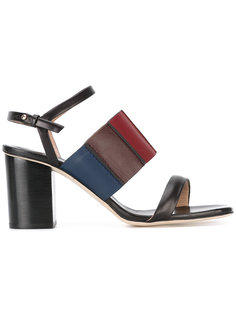 босоножки на каблуках-столбиках с ремешками Paul Smith