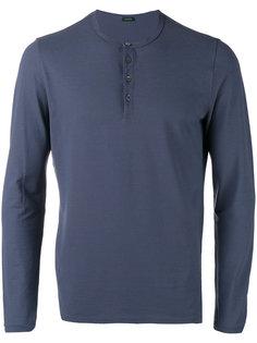 button up sweatshirt  Zanone