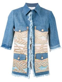 jacquard panel jacket  Giada Benincasa