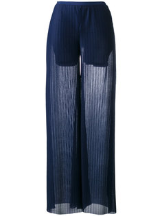 wide leg trousers Emporio Armani