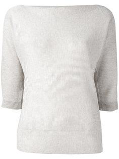 свитер с укороченными рукавами  Armani Jeans