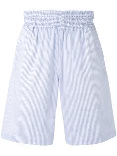 полосатые бермуды  Comme Des Garçons Shirt