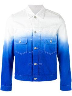 джинсовая куртка с градиентным узором Ganryu Comme Des Garcons