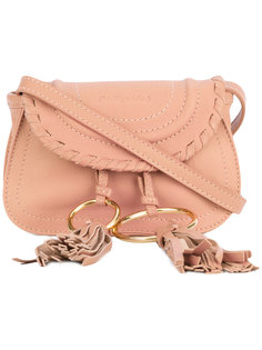 мини сумка-сэтчел с кисточками  See By Chloé