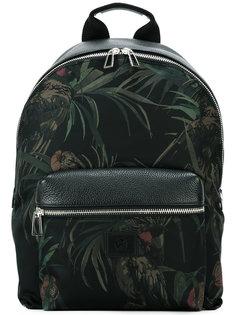 рюкзак с растительным принтом Ps By Paul Smith
