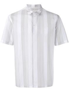 полосатая рубашка с короткими рукавами Stephan Schneider