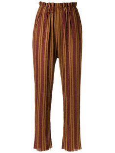 striped knit trousers Gig