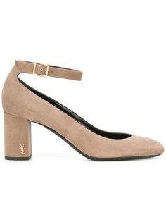 туфли с ремешком на щиколотке Babies 70 Saint Laurent